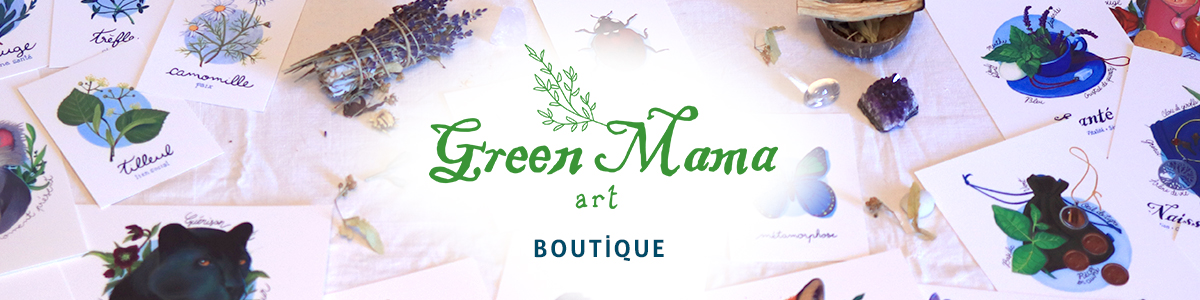 Green Mama Art, Boutique
