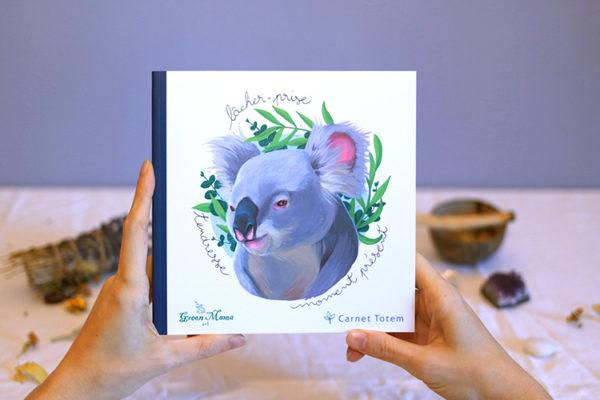 Green Mama - Carnet Totem Koala