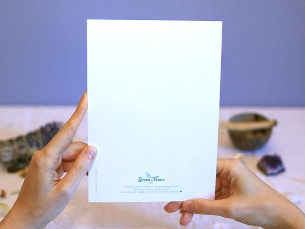 Green Mama Série de cartes Talisman porte-bonheur