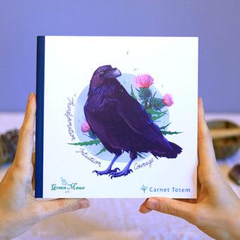 Green Mama - Carnet Totem Corbeau